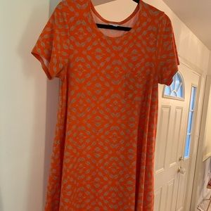 LulaRoe Legging Material Carly Dress